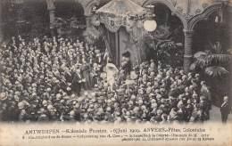 ANTWERPEN - Koloniale Feesten - 6 Juni 1909 - Plechtigheid Op De Beurs - Redevoering Van H. Corty - Antwerpen