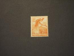 PAPUA N. G. - 1952 UCCELLO 2 1/2 - NUOVI(++) - Papua Nuova Guinea