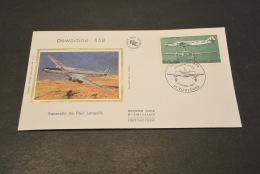 M3407-   FDC   -  France 1987 -  Aquarelle De Paul Lengelle  - Dewoitine 338 - FDC