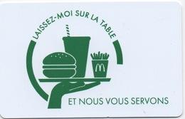 """Carte De McDonald's : """"laissez-moi Sur La Table Et Nous Vous Servons"""" - Other"""