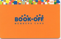 Carte De Fidélité : BOOK-OFF Members Card (Japon) En Carton - Other