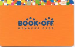 Carte De Fidélité : BOOK-OFF Members Card (Japon) En Carton - Sonstige