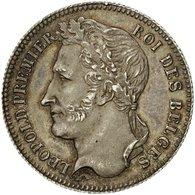 Monnaie, Belgique, Leopold I, 1/4 Franc, 1834, SUP, Argent, KM:8 - 1831-1865: Léopold I