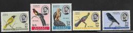 Ethiopia, Scott # C77-81 Mint Hinged Birds, 1963 - Ethiopia