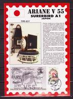 ESPACE - ARIANE Vol Du 1992/12 V55 - CSG - 3 Documents - Europe
