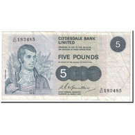 Billet, Scotland, 5 Pounds, 1974, 1974-03-01, KM:205c, TTB - 5 Pounds