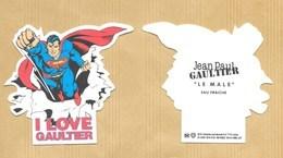 Carte Parfumée Perfume Card LE MALE * I LOVE GAULTIER * JEAN PAUL GAULTIER JPG * R/V - Cartes Parfumées
