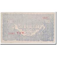 Billet, Indonésie, 10 Rupiah, 1948, 1948-01-01, KM:S190b, TTB+ - Indonésie