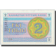 Billet, Kazakhstan, 2 Tyin, 1993, KM:2b, SPL - Kazakhstan