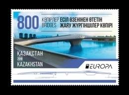 Kazakhstan 2018 Mih. 1076 Europa-Cept. Bridges MNH ** - Kazakhstan