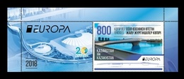 Kazakhstan 2018 Mih. 1076 Europa-Cept. Bridges (with Label) MNH ** - Kazakhstan