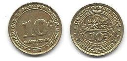 Grand Casino Biloxi MS 10 Cent Token - Casino