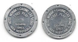 Hotel Nevada & Casino Las Vegas NV - Free Play Token - Casino