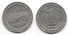 Kewadin Casino Sault St. Marie MI $1 Token Dated 1994 - Casino