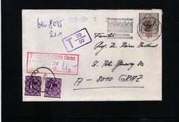 Austria / Oesterreich 1982 Interessanten Brief Mit Portomarken - Postage Due