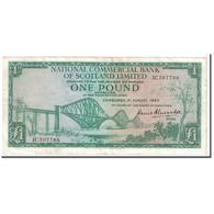 Billet, Scotland, 1 Pound, 1963, 1963-08-01, KM:269a, TTB - [ 3] Scotland