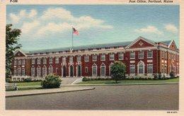 U. S. POST OFFICE-PORTLAND-MAINE-NON VIAGGIATA - Portland