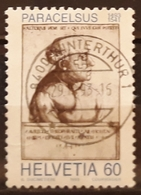 SUIZA 1993 The 500th Anniversary Of The Birth Of Paracelsus - Opening Of The Olympic Museum. USADO - USED. - Suiza