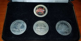 Casino Slot Token Set With Case From The 2006 USBC Women's Bowling Tournament Reno (see Description) - Casino