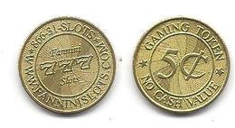 Fannini Slots 5 Cent Token - Tokens & Medals