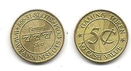 Fannini Slots 5 Cent Token - Unclassified