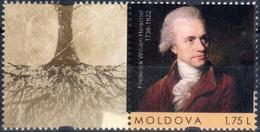 "Moldova 2018 ""280th Anniversary Of Friedrich William Herschel (1738-1822) Of The English Astronomer"" 1v Quality:100% - Moldawien (Moldau)"