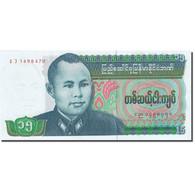 Billet, Birmanie, 15 Kyats, 1985-1987, Undated (1986), KM:62, NEUF - Myanmar