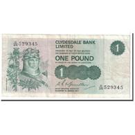 Billet, Scotland, 1 Pound, 1977, 1977-03-01, KM:204c, TB+ - Ecosse