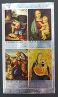 Peace On Earth , Sanda Island , Christmas 1966 , Correggio , Raffaello , Angelico , MNH - Ortsausgaben