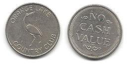 Orange Lake Country Club No Cash Value Metal Token - Unclassified
