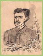 Momarquia Portuguesa - Aguarela Original Do Rei D. Carlos Aos 28 Anos - Watercolour - King - Roi - Portugal - Watercolours