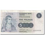 Billet, Scotland, 5 Pounds, 1975, 1975-01-06, KM:205c, TB+ - Scozia