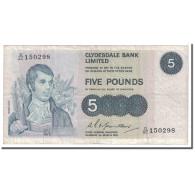 Billet, Scotland, 5 Pounds, 1974, 1974-03-01, KM:205c, TB - Scozia