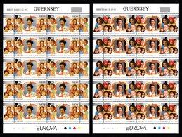 GUERNSEY 1996 EUROPA/Women Of Distinction: Set Of 2 Sheets UM/MNH - Guernsey
