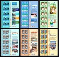 GUERNSEY 2003 EUROPA/Poster Art: Set Of 6 Sheets UM/MNH - Guernsey