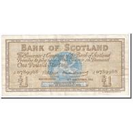Billet, Scotland, 1 Pound, 1962, 1962-12-06, KM:102a, TB+ - Ecosse