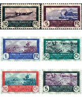 Ref. 51157 * MNH * - SPANISH MOROCCO. 1951. HUNTING AND FISHING . CAZA Y PESCA - Maroc Espagnol