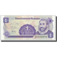Billet, Nicaragua, 1 Centavo, KM:167, NEUF - Nicaragua