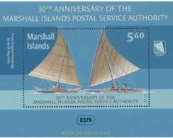 Ref. 342431 * MNH * - MARSHALL Islands. 2014. 30 ANIVERSARIO DEL SERVICIO POSTAL - Marshall Islands