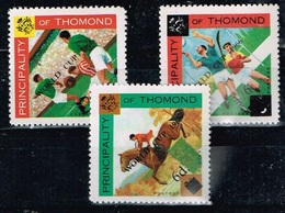 Principality Of Thomond.1966 World Cup.Soccer.Football.Fussball.Overprint.MNH** - Copa Mundial