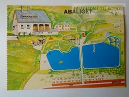 D160134  Map Carte Karte   Hungary  Abaliget - Mecsek 1976 - Landkaarten