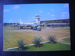 BRAZIL - POSTCARD AIRPORT IN FOZ DO IGUAÇU (PARANA) IN THE STATE - Aérodromes