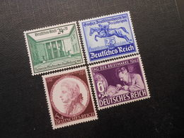 D.R.Mi 743(*)/746*/810*/811*MLH - 1940/1942 - Mi 10,50 € - Germany