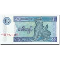 Billet, Myanmar, 1 Kyat, 1991-1998, Undated (1996), KM:69, SPL - Myanmar
