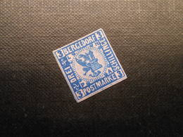 Mi 4  ND - 3S(*)UNG  - Altdeutschland (Bergedorf) - 1861 - Vollrandig - Bergedorf