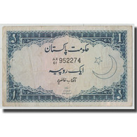 Billet, Pakistan, 1 Rupee, KM:9a, TB - Pakistan