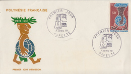 Enveloppe  FDC   1er  Jour   POLYNESIE   PATA    1970 - FDC