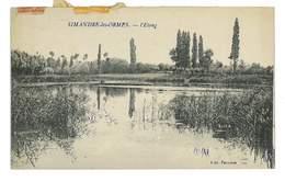 CPA 69 SIMANDRE-LES-ORMES L'ETANG - Francia