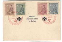 5411 - DEUTSCHE SONDERMARKEN IM KRIEGE - Covers & Documents