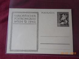 Carte Entier Postal 1942 (congres De Vienne) - Briefe U. Dokumente